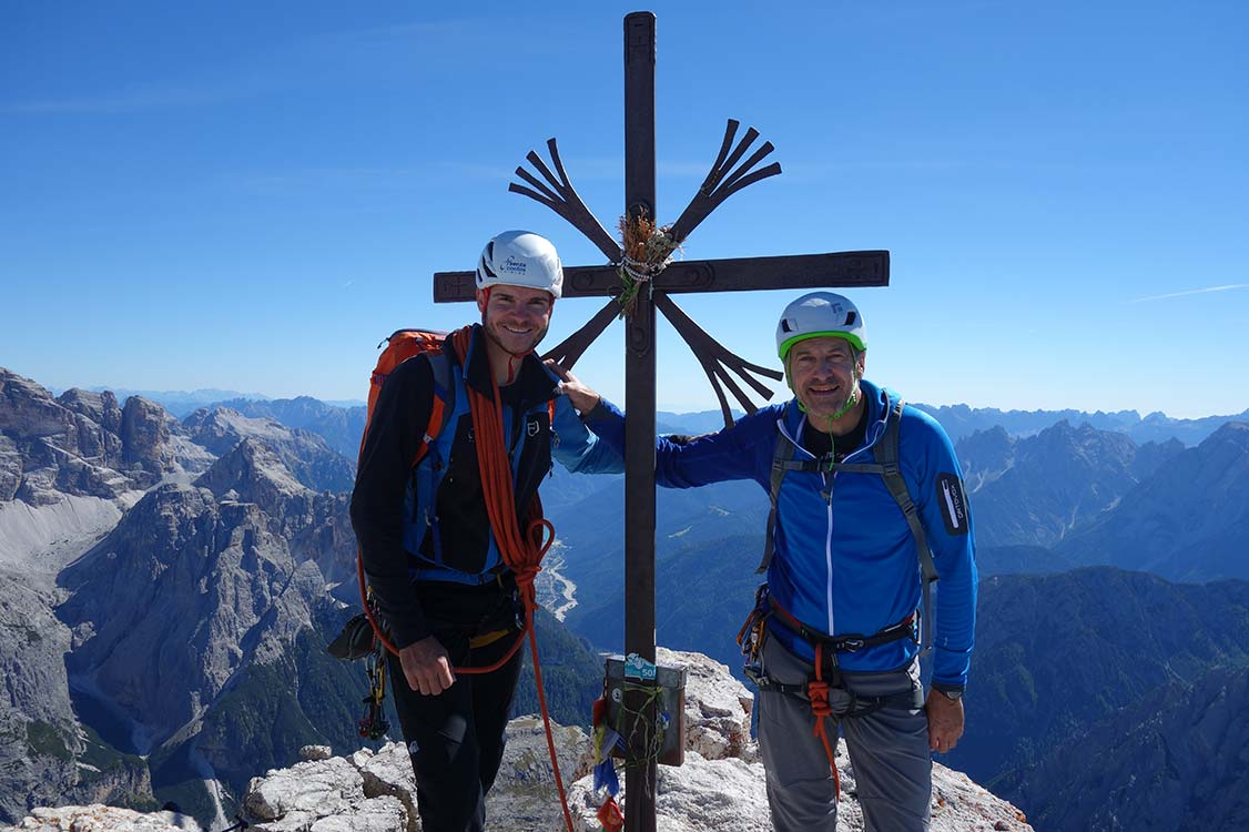Alpinistisches Highlight - Drei Zinnen-Trilogie